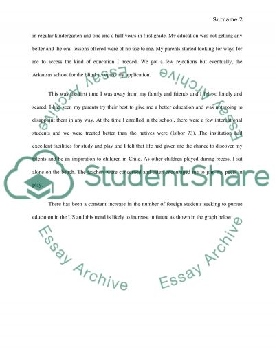 my life story essay examples