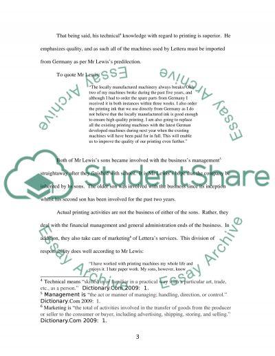 Bank Lending (Loan Propsal) essay example