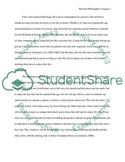 Model Essay English My Personal Philosophy Of Aging English Creative Writing Essays also Science Vs Religion Essay My Personal Philosophy Of Aging Essay Example  Topics And Well  Example Essay English