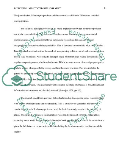 Individual Annotated Bibliography (IAB) (5 articles)