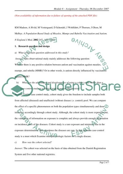 Interpretation of Statistics essay example