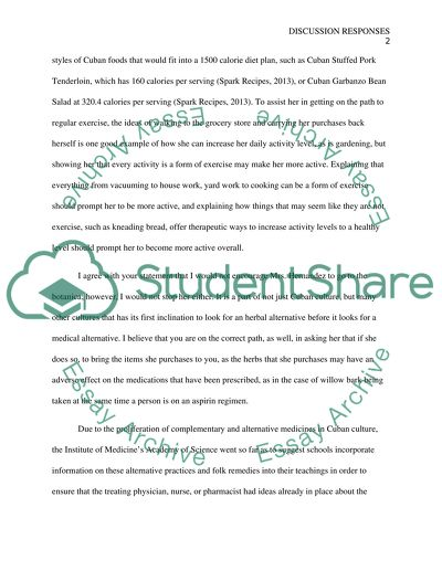 Cuban culture Essay Example | Topics and Well Written Essays - 1000