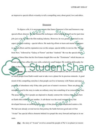 Sample Business Essay Literay Essay On A Movie Topics For Synthesis Essay also Essay About Healthy Food Literay Essay On A Movie Example  Topics And Well Written Essays  Research Paper Essay Examples