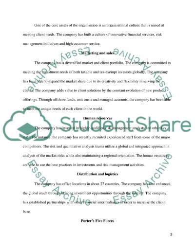 Corporate strategy assigment essay example
