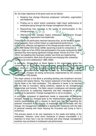 Change management dissertation example speaking of speech summer homework