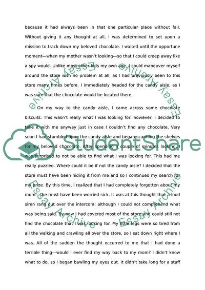 Childhood Paper Essay