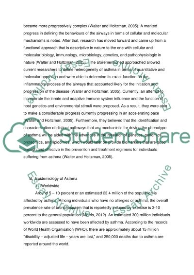 Catcher In The Rye Essays Essay On Bronchial Asthma Sample Essay For Graduate School Admission also Essay Problem Solution Essay On Bronchial Asthma Example  Topics And Well Written Essays  Essay References