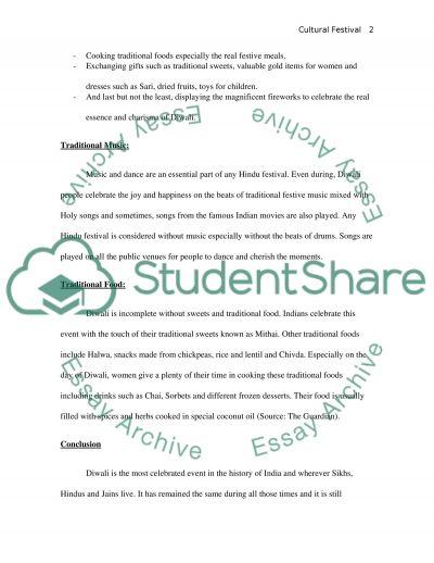 Concert essay example