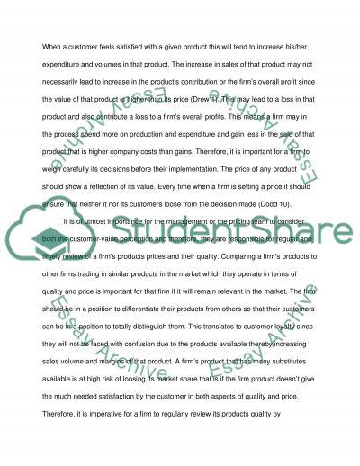 Mareting essay example