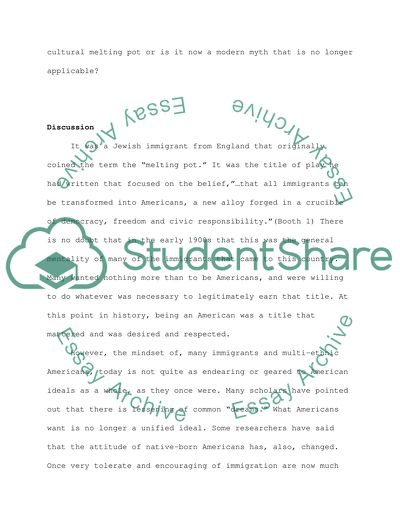 melting pot essay example  topics and well written essays    words melting pot