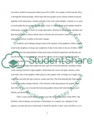 Edward Tufte Essay essay example