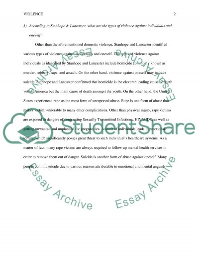 term paper domestic violence Short essay on violence  domestic violence is the main example of such behaviours maltreatment of children, violence against women and elders are some of the.