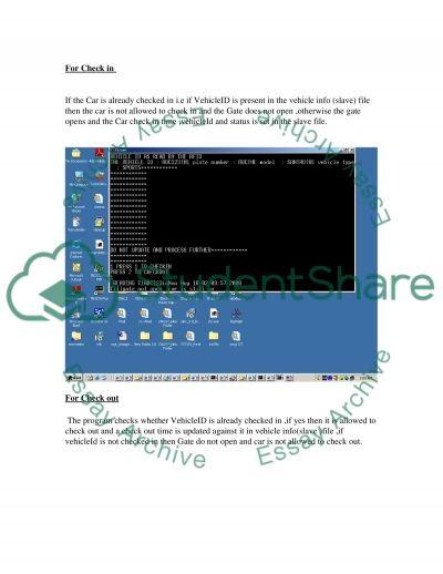 RFID system essay example