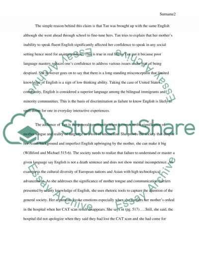 Summary/Analysis paper