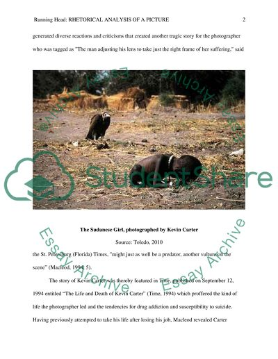 The Sudanese Girl, photographed by Kevin Carter