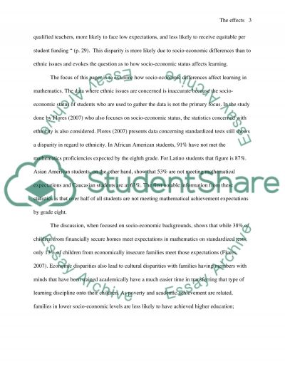 The Development Of Childrens Thinking Related To Mathematics essay example