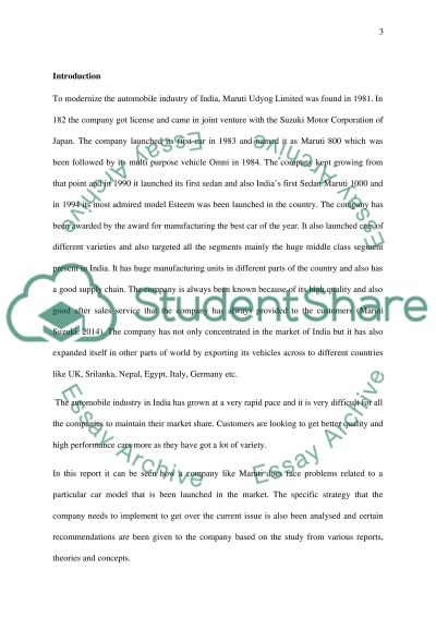 strategic analysis of waterstones essay example
