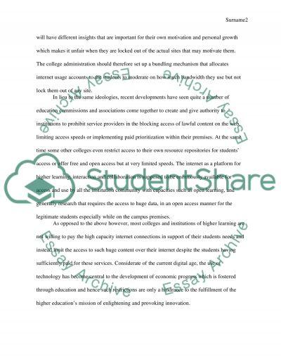 Issue-Based Persuasive Essay