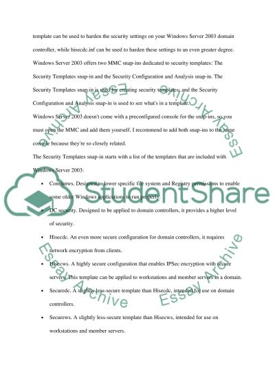 File Systems, Remote Access, and Monitoring essay example