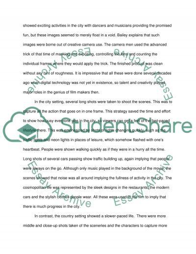 film analysis paper sunrise essay example topics and well film analysis paper sunrise 1927 essay example