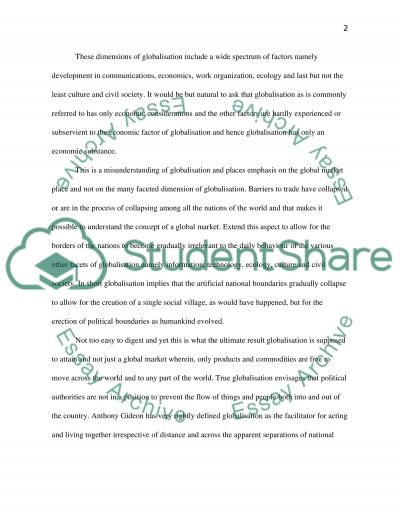Is the reaffirmation of regional identities compatible with globalisation essay example