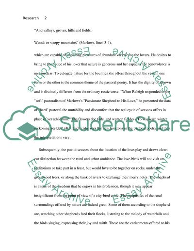 research paper about love
