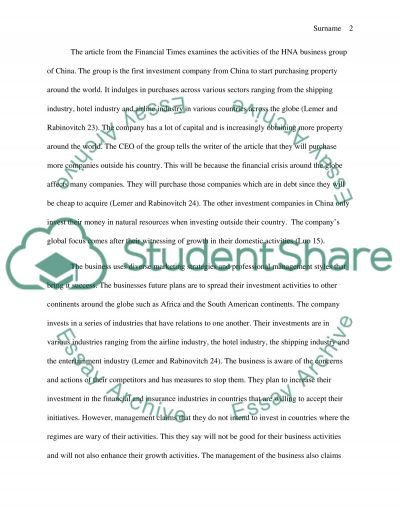 Marketing Practices of China essay example