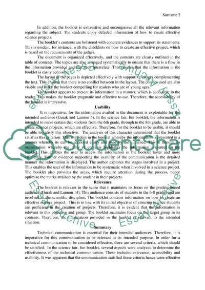 English Essay Structure  Jane Eyre Essay Thesis also Thesis For Argumentative Essay Examples Analysis Of Science Fair Fun Booklet Essay Example  Topics  Essay Tips For High School
