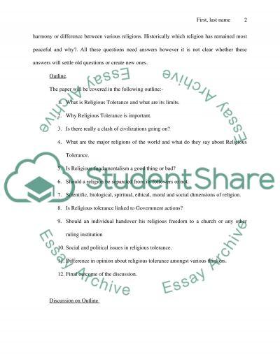 Religious Studies Cumulative Paper essay example