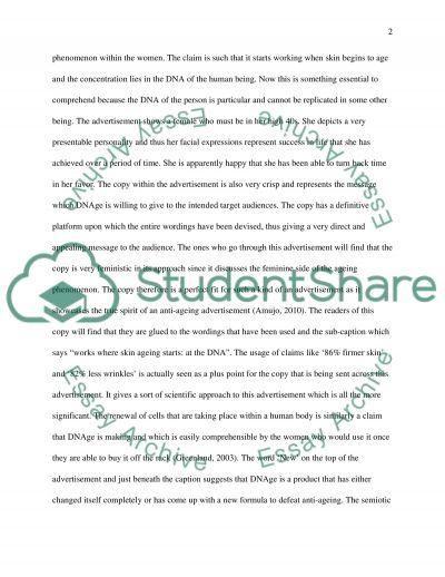 Media and Semiotics essay example