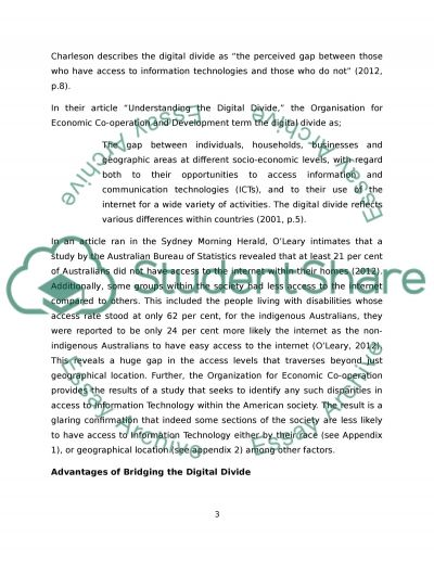 digital technology essay example