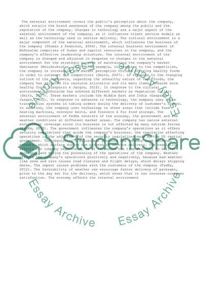 Change management essay