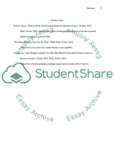 Music and publishing essay