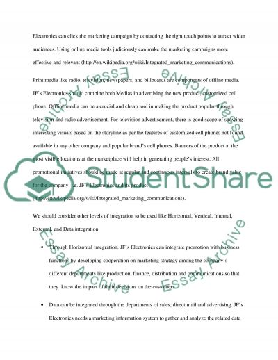 Integrated Marketing Communication (IMC) and Marketing Channel Strategy essay example