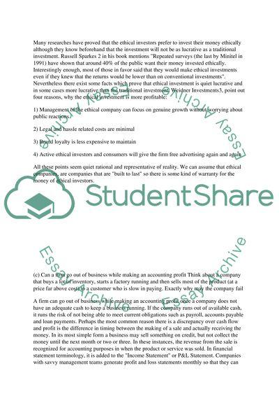 Corporate Finance High School Essay