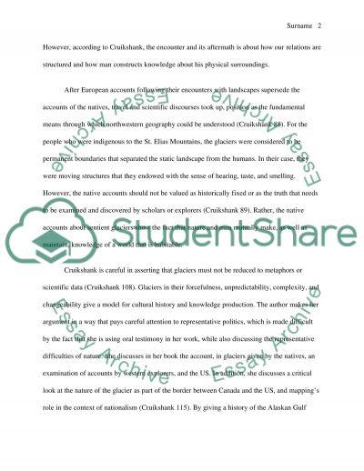 Knowledge Encounters essay example