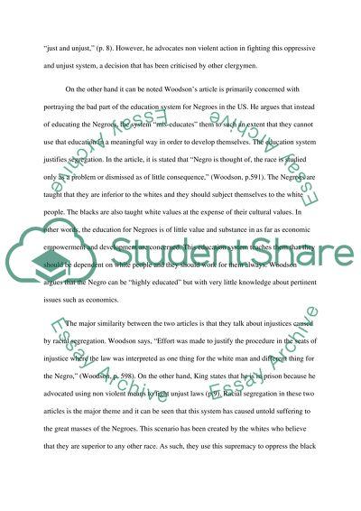 Writing Prompt: Comparison/Contrast Paper
