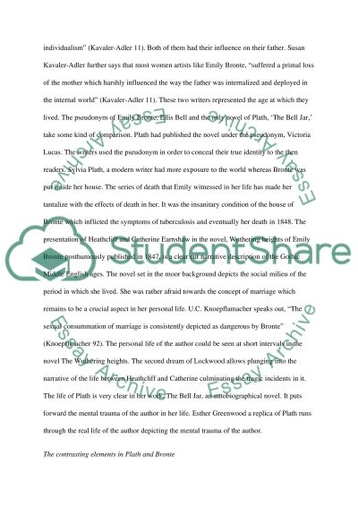 comparison of the poet sylvia plath emily bronte essay comparison of the poet sylvia plath emily bronte essay example