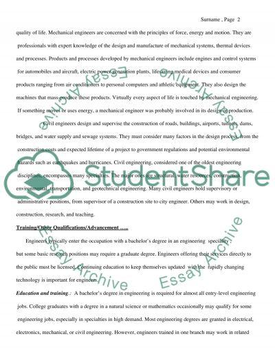 Career Plan essay example