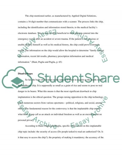 We Can But Should We essay example