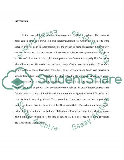 Ethical Dilemmas essay example
