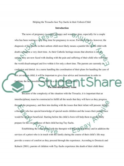 Genetic Disorder Essay essay example