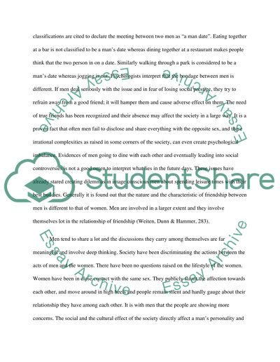 Position Paper Over The Man Date by Jennifer Lee