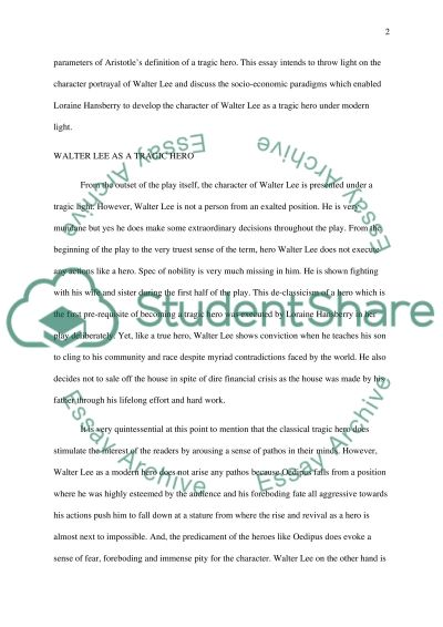 a raisin in the sun essay example topics and well written essays  a raisin in the sun essay example