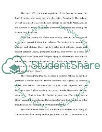 Plymouth Plantation Essay essay example