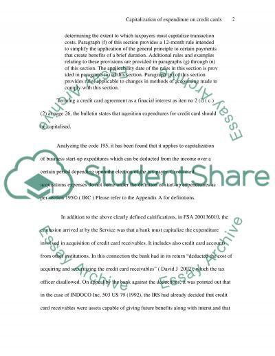 Internal Revenue Codes essay example