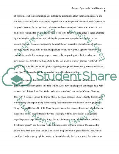 Power of Sina Weibo essay example
