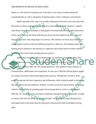 Graduating From High School Essay The Benefits Of Drama In Education  Essay Example Modest Proposal Essay Ideas also Healthy Mind In A Healthy Body Essay The Benefits Of Drama In Education Essay Example  Topics And Well  Sample Proposal Essay