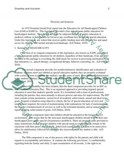 diversity and inclusion essay example topics and well written  diversity and inclusion essay example
