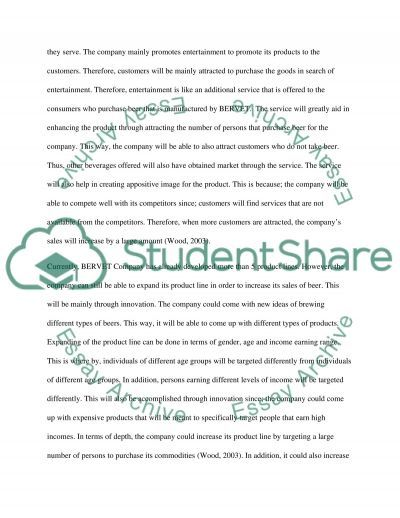 Marketing Products essay example